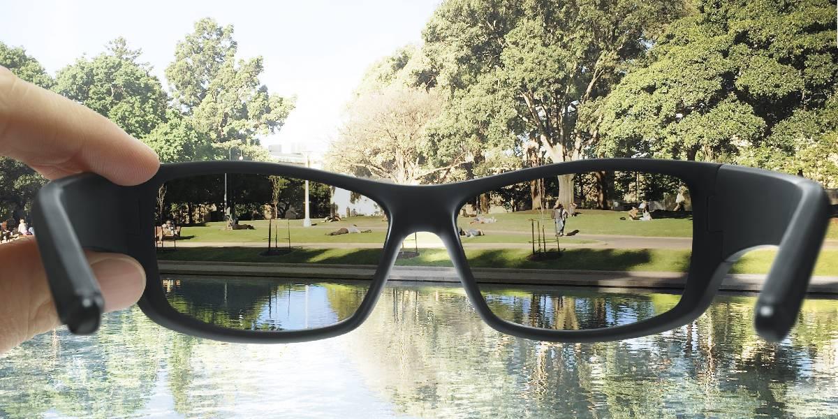 Polarisierte Sportbrille