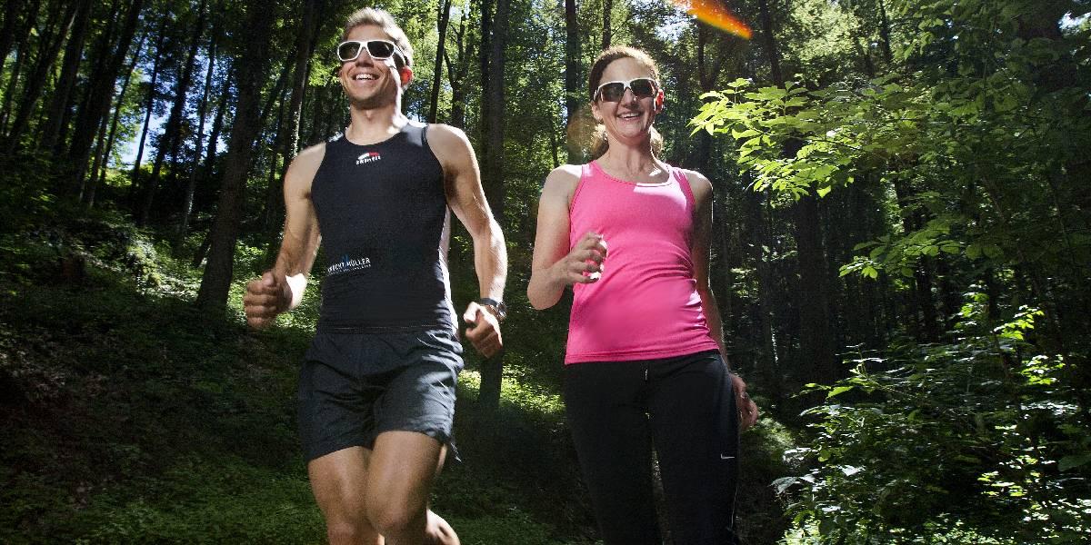 Sportbrille beim Joggen